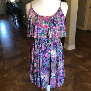 Floral Dress - Large NWT